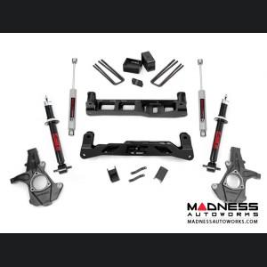 "Chevy Silverado 1500 2WD Suspension Lift Kit w/ N3 Shocks & Lifted Struts - 5"" Lift - Cast Steel"